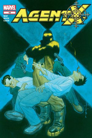 Agent X (2002) #12