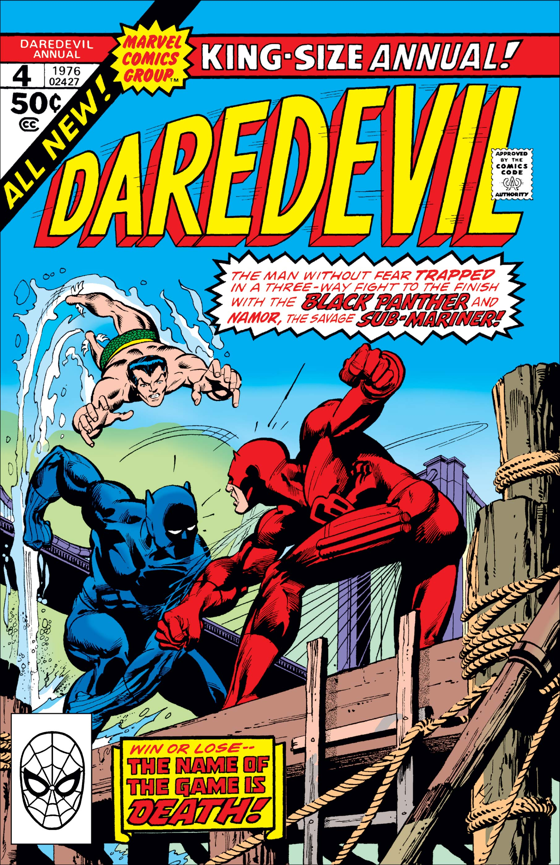 Daredevil Annual (1967) #4