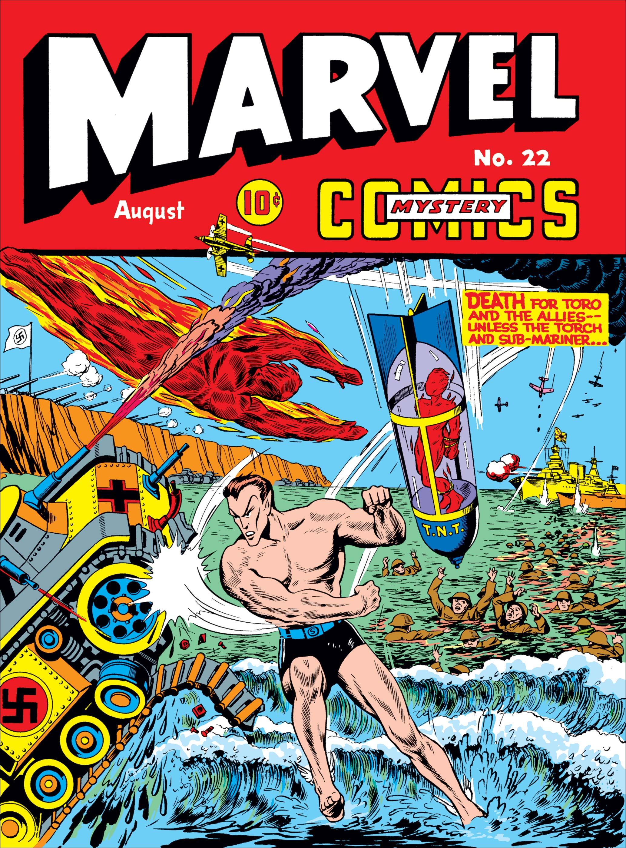Marvel Mystery Comics (1939) #22