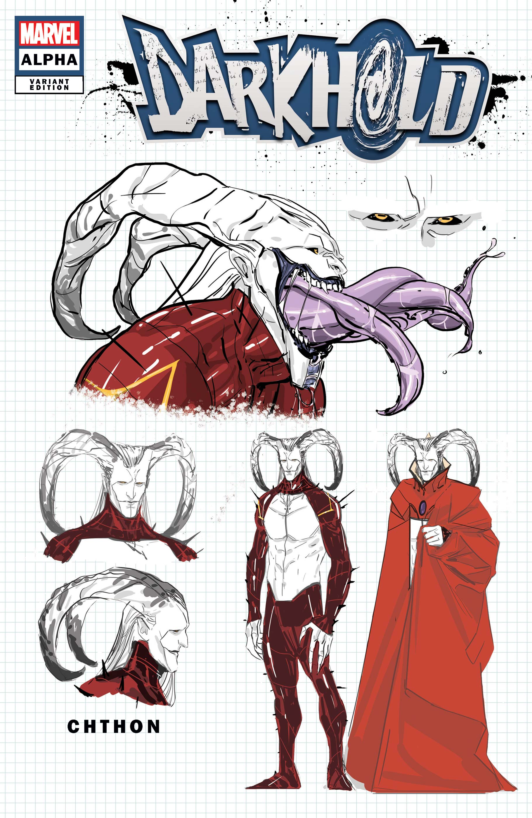 The Darkhold Alpha (2021) #1 (Variant)