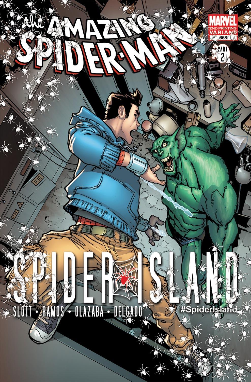 Amazing Spider-Man (1999) #668 (2nd Printing Variant)