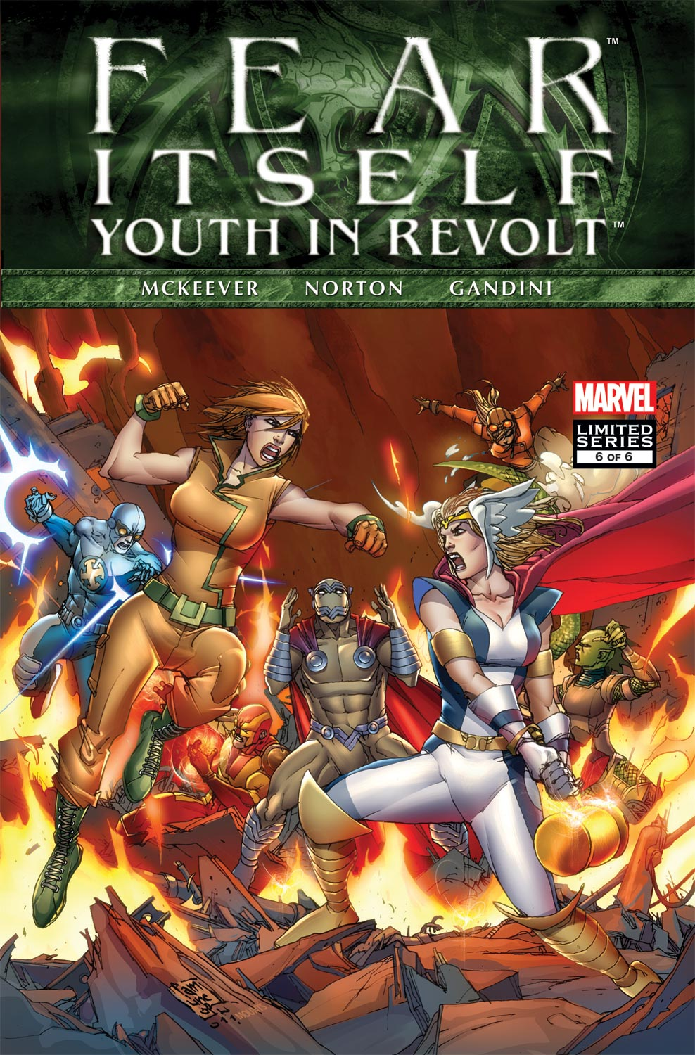Fear Itself: Youth in Revolt (2011) #6