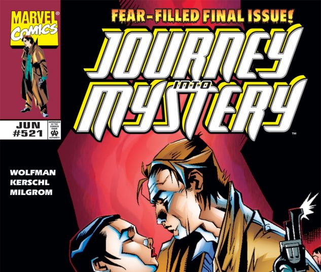 Journey Into Mystery (1996) #521 Cover
