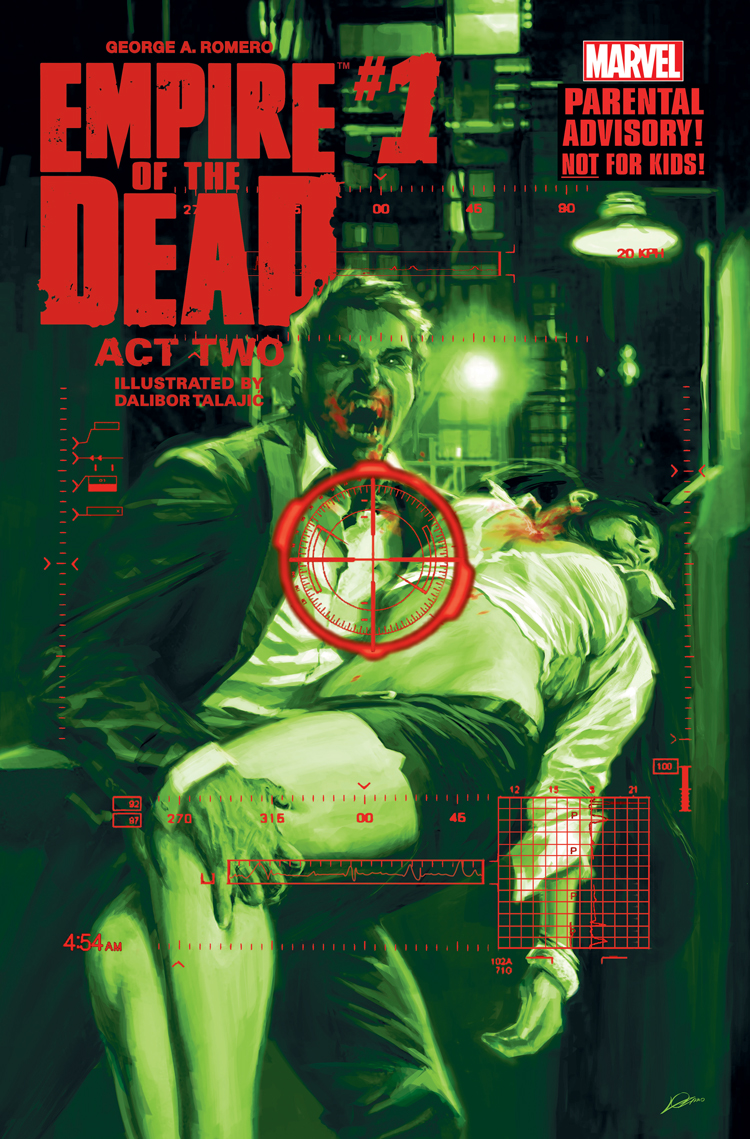 George Romero's Empire of the Dead: Act Two (2014) #1