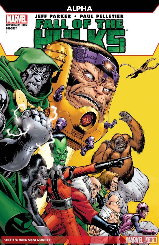 Fall of the Hulks Alpha (2009) #1