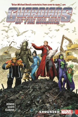 Guardians of the Galaxy: New Guard Vol. 4 - Grounded (Trade Paperback)