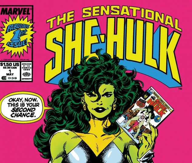 Cover for SENSATIONAL SHE-HULK 1