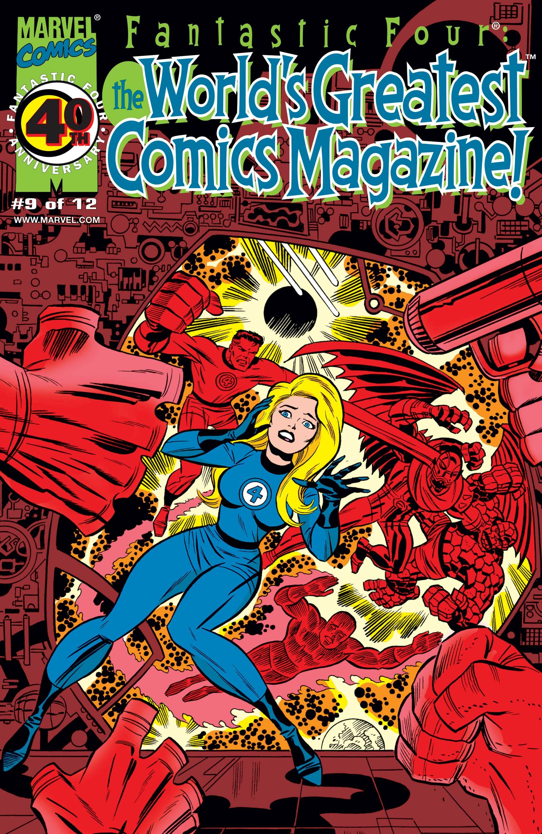 Fantastic Four: World's Greatest Comics Magazine (2001) #9