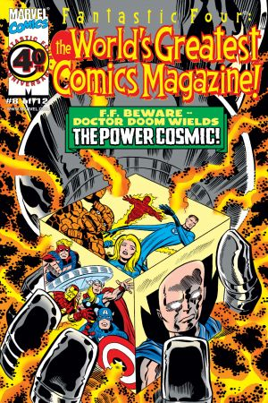 Fantastic Four: World's Greatest Comics Magazine (2001) #8