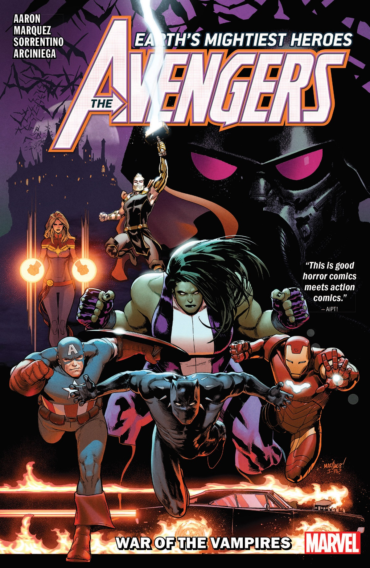 AVENGERS BY JASON AARON VOL. 3: WAR OF THE VAMPIRES TPB (Trade Paperback)