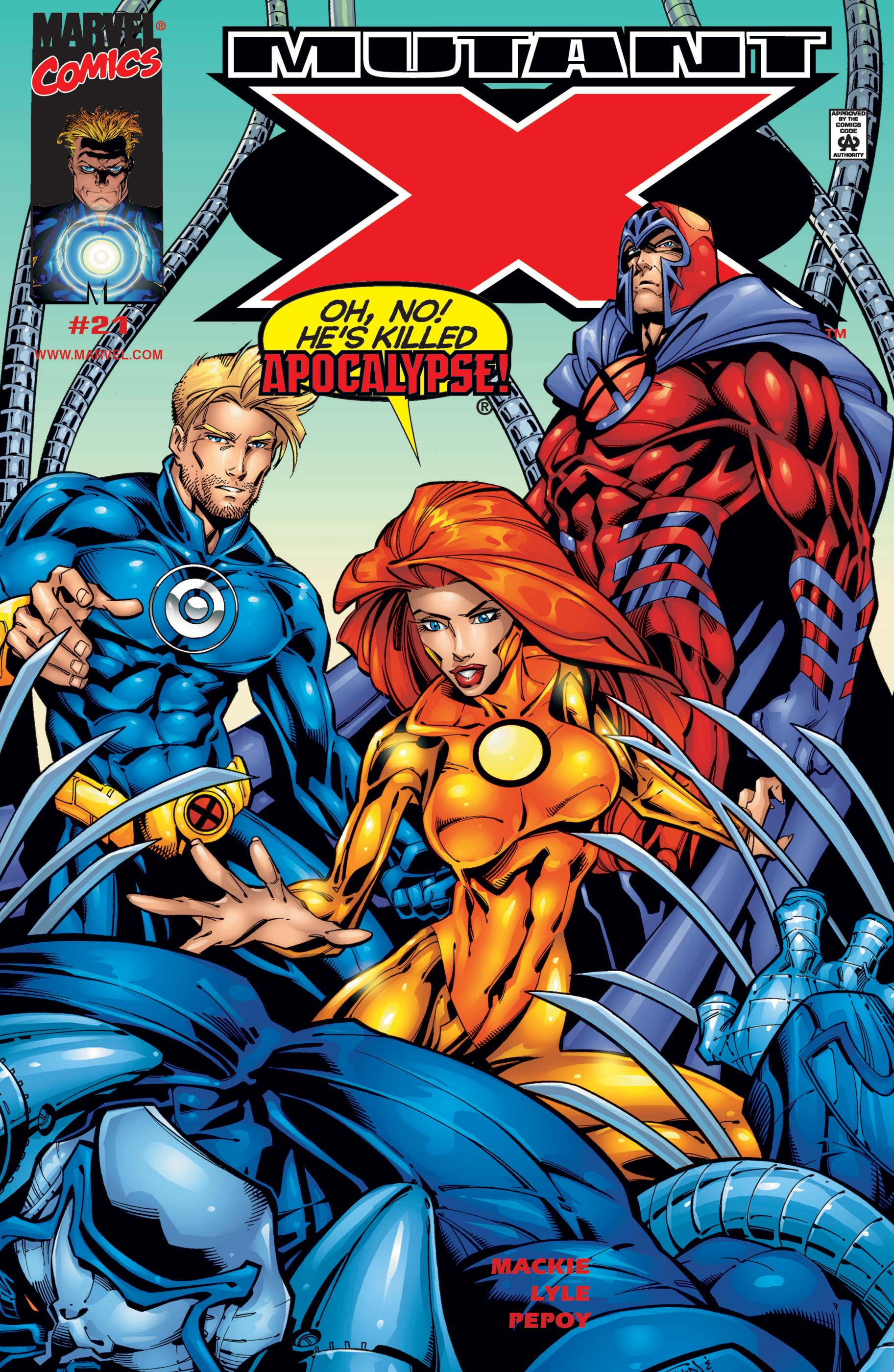Mutant X (1998) #21