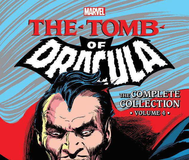 TOMB OF DRACULA: THE COMPLETE COLLECTION VOL. 4 TPB #4