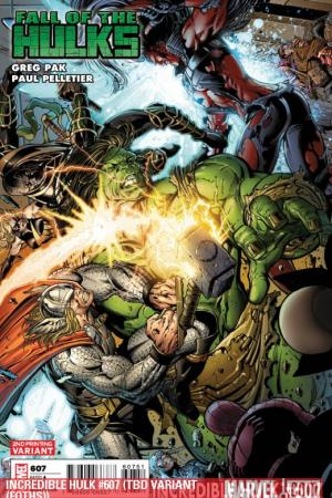 Incredible Hulks #607  (2ND PRINTING VARIANT)