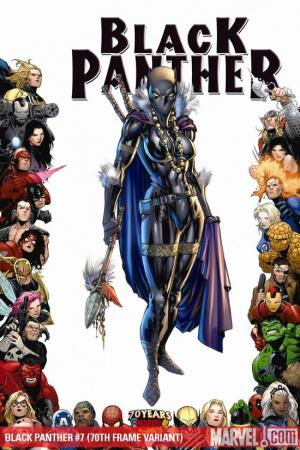 Black Panther (2008) #7 (70TH FRAME VARIANT)