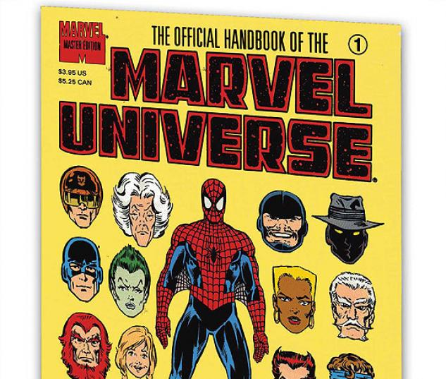 ESSENTIAL OFFICIAL HANDBOOK OF THE MARVEL UNIVERSE - MASTER EDITION VOL. 3 #0
