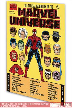 Essential Official Handbook of the Marvel Universe - Master Edition Vol. 3 (Trade Paperback)