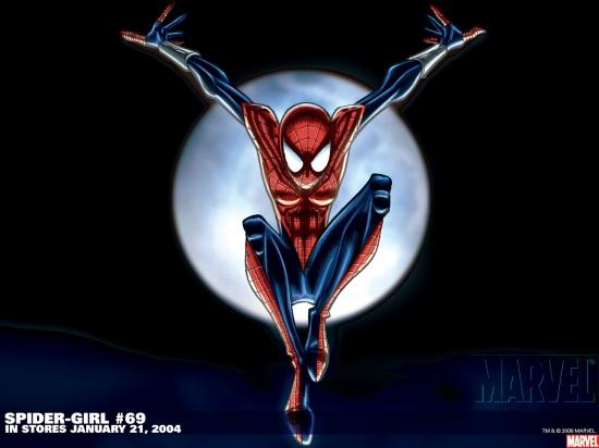 Spider Girl Wallpaper