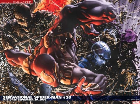 Sensational Spider-Man (2006) #30 Wallpaper