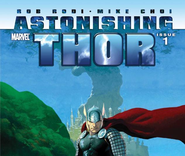 Astonishing Thor #1 Foilogram Variant