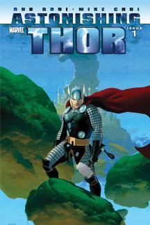 Astonishing Thor (2010) #1 (FOILOGRAM VARIANT)