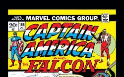 Captain America (1968) #166 Cover