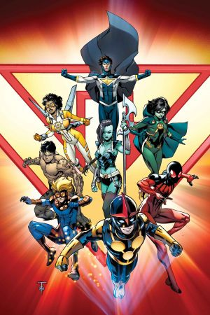 New Warriors (2014) #1 (Samnee Animal Variant)
