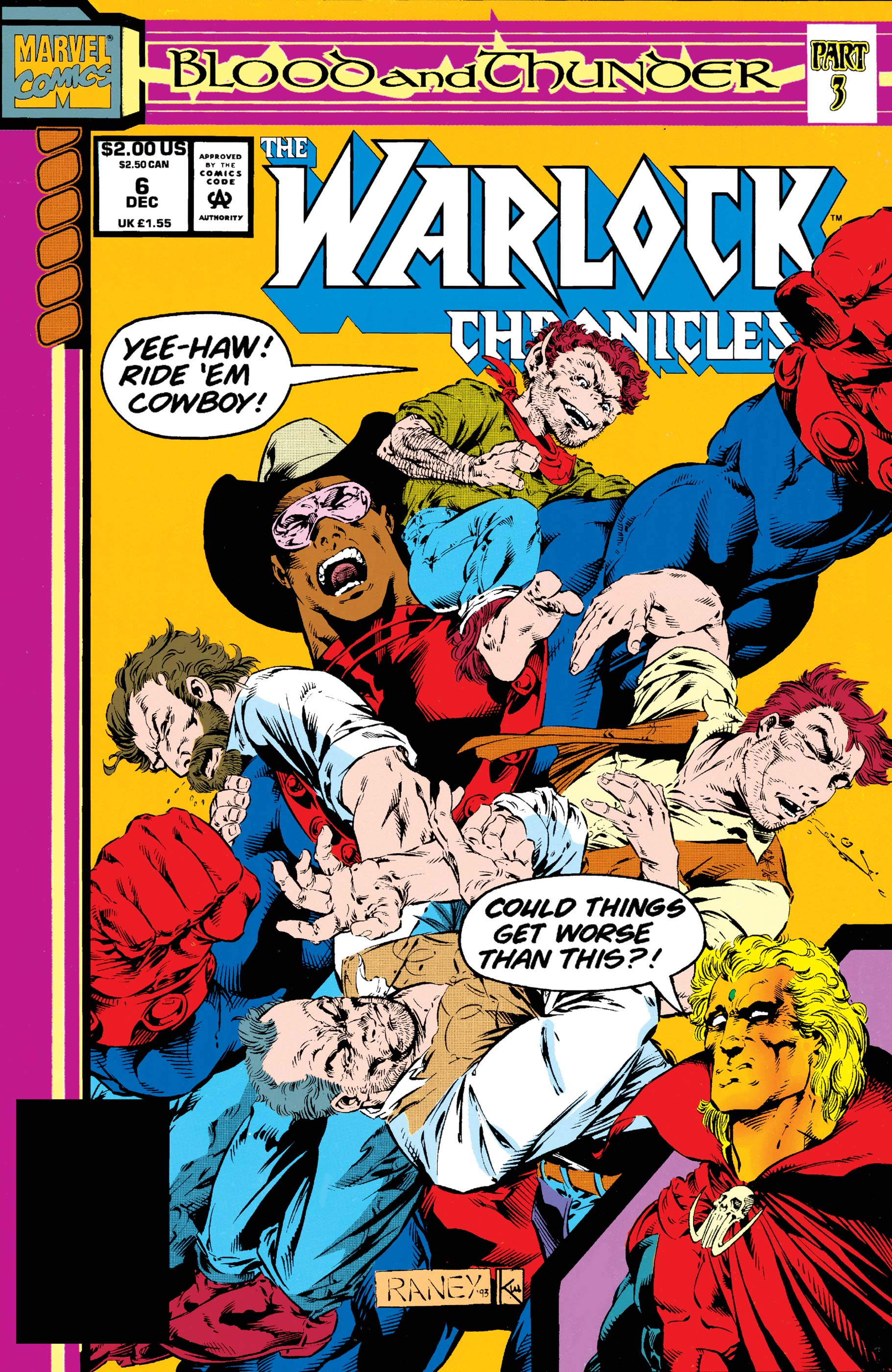 Warlock Chronicles (1993) #6