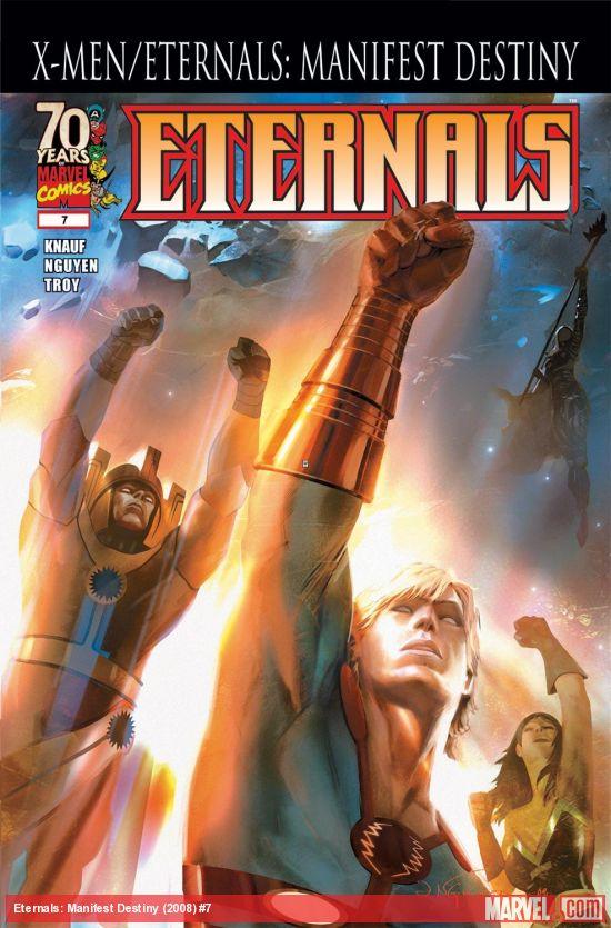 Eternals: Manifest Destiny (2008) #7