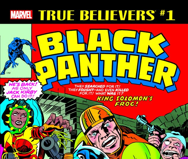 cover from True Believers: Kirby 100th - Black Panther (2017) #1