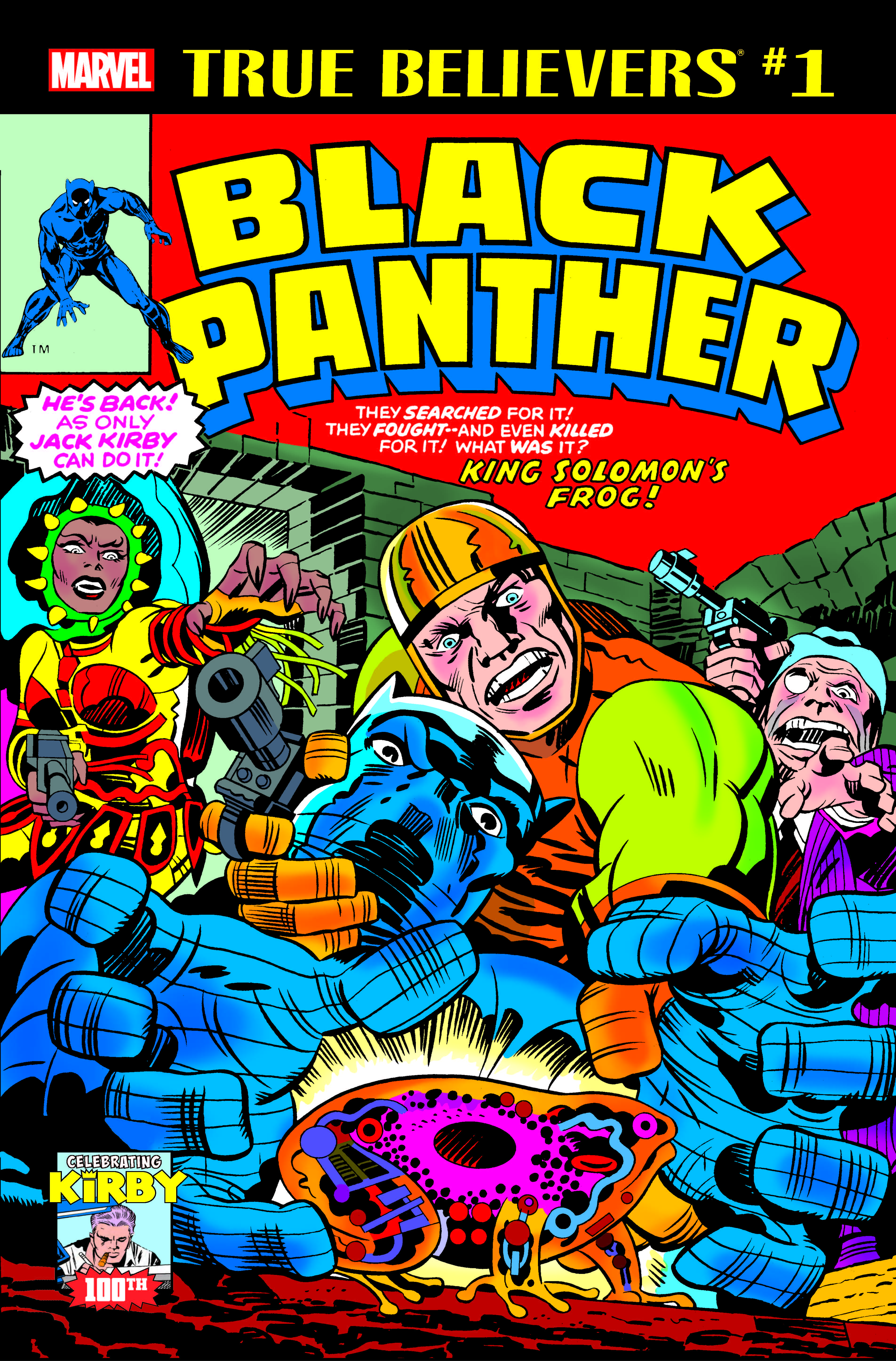 True Believers: Kirby 100th - Black Panther (2017)