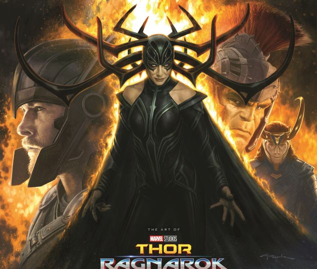 cover from Marvel's Thor: Ragnarok - The Art of the Movie (2017)