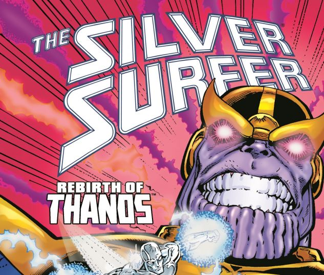 SILVER SURFER: REBIRTH OF THANOS 0 cover