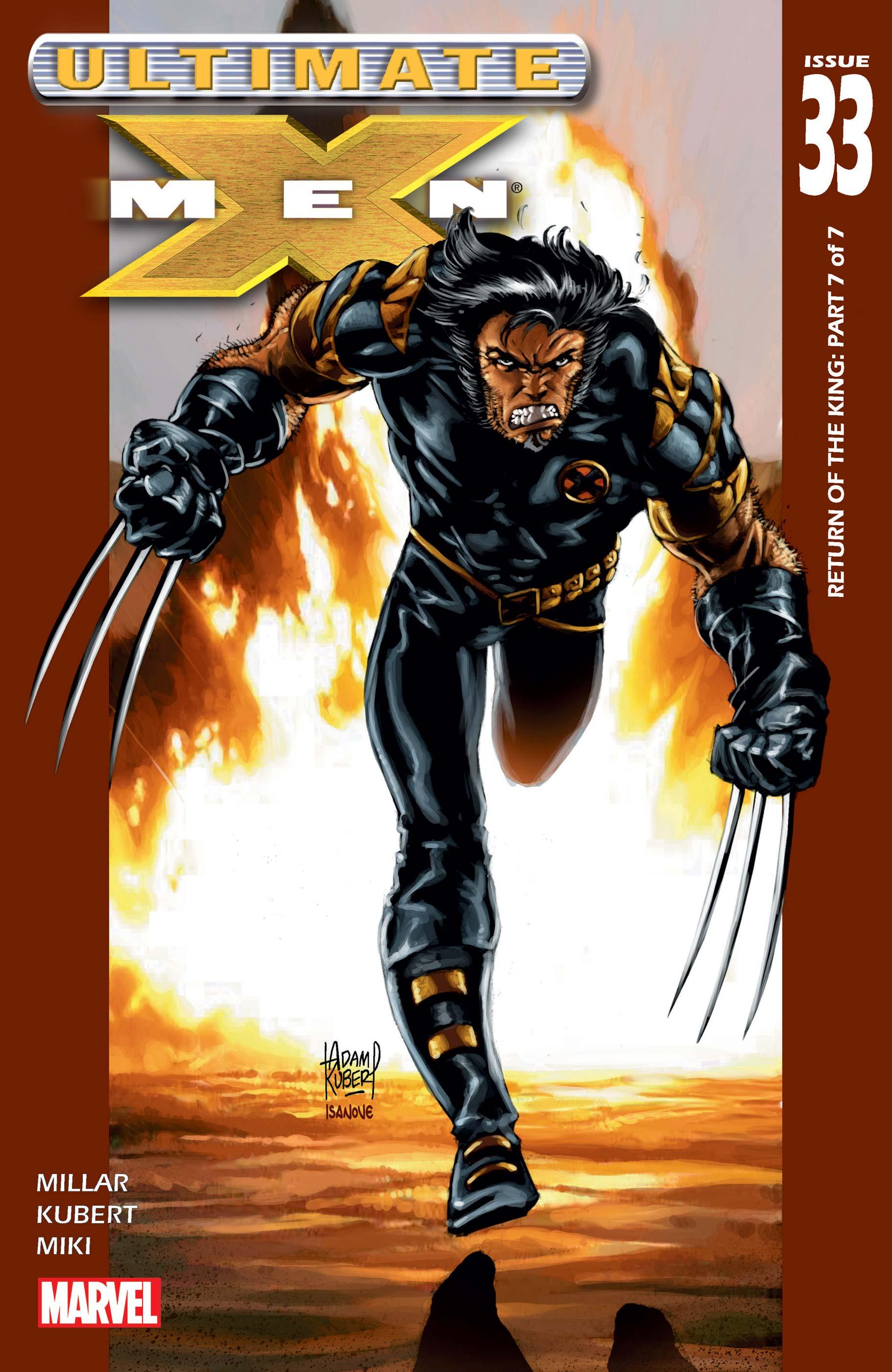 Ultimate X-Men (2001) #33