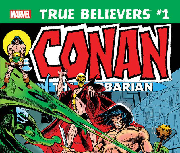TRUE BELIEVERS: CONAN - CURSE OF THE GOLDEN SKULL! 1 #1