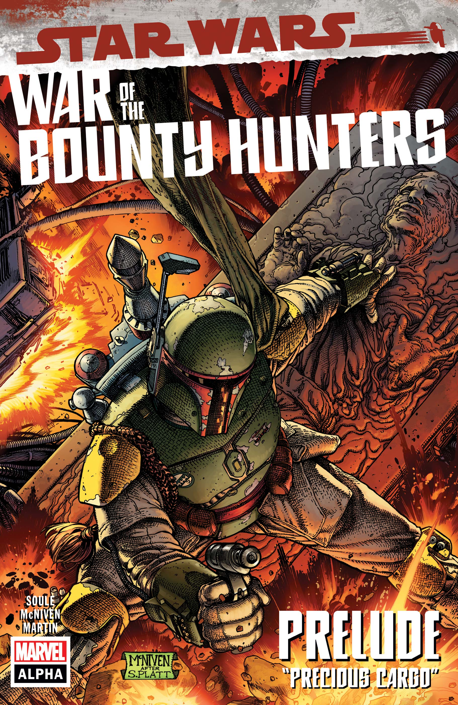 Star Wars: War Of The Bounty Hunters Alpha (2021) #1
