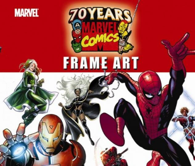 Marvel 70th Anniversary Frame Art Comic (2009) #1 | Comics | Marvel.com
