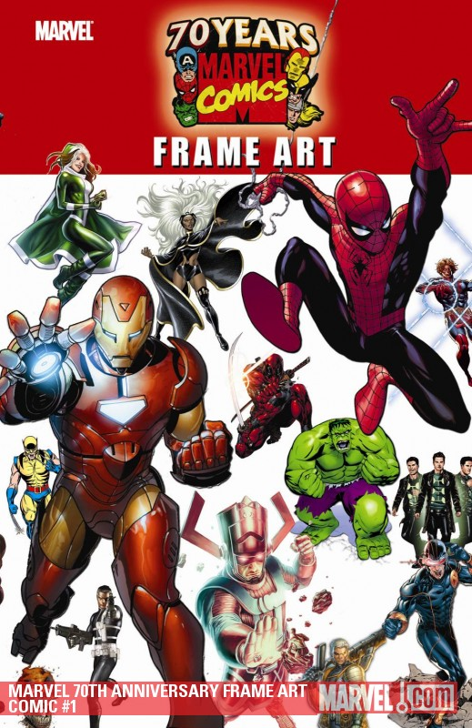 Marvel 70th Anniversary Frame Art Comic (2009) #1