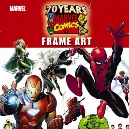 Marvel 70th Anniversary Frame Art Comic (2009)