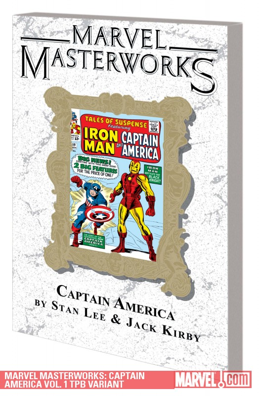 Marvel Masterworks: Captain America Vol. 1 Variant (Trade Paperback)