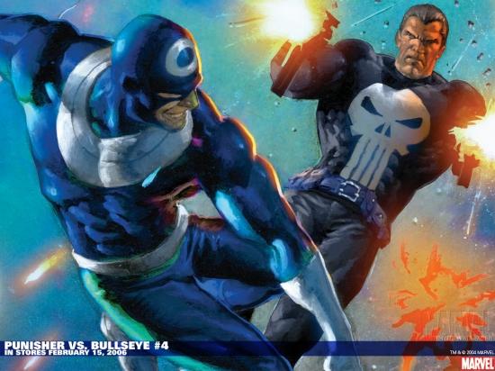 Punisher Vs. Bullseye (2005) #4 Wallpaper