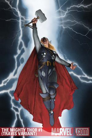 The Mighty Thor (2011) #1 (Travis Variant)