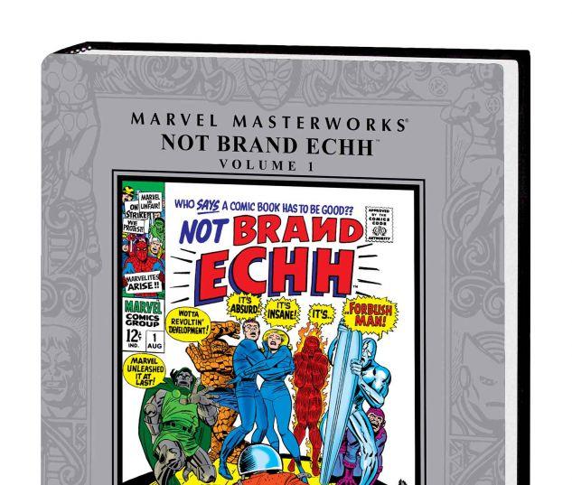 MARVEL MASTERWORKS: NOT BRAND ECHH VOL. 1 HC