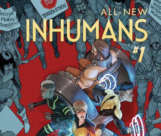 ALL-NEW INHUMANS 1 (WITH DIGITAL CODE)