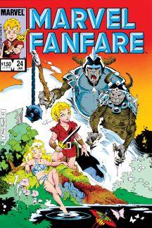 Marvel Fanfare (1982) #24