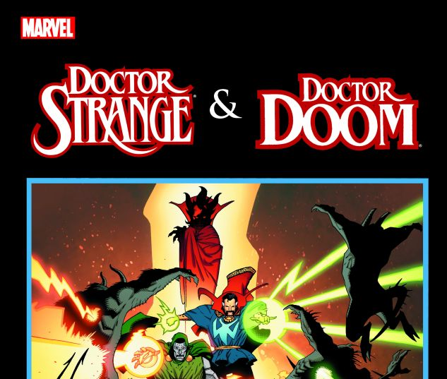 cover from Dr. Strange & Dr. Doom: Triumph & Torment (2013)