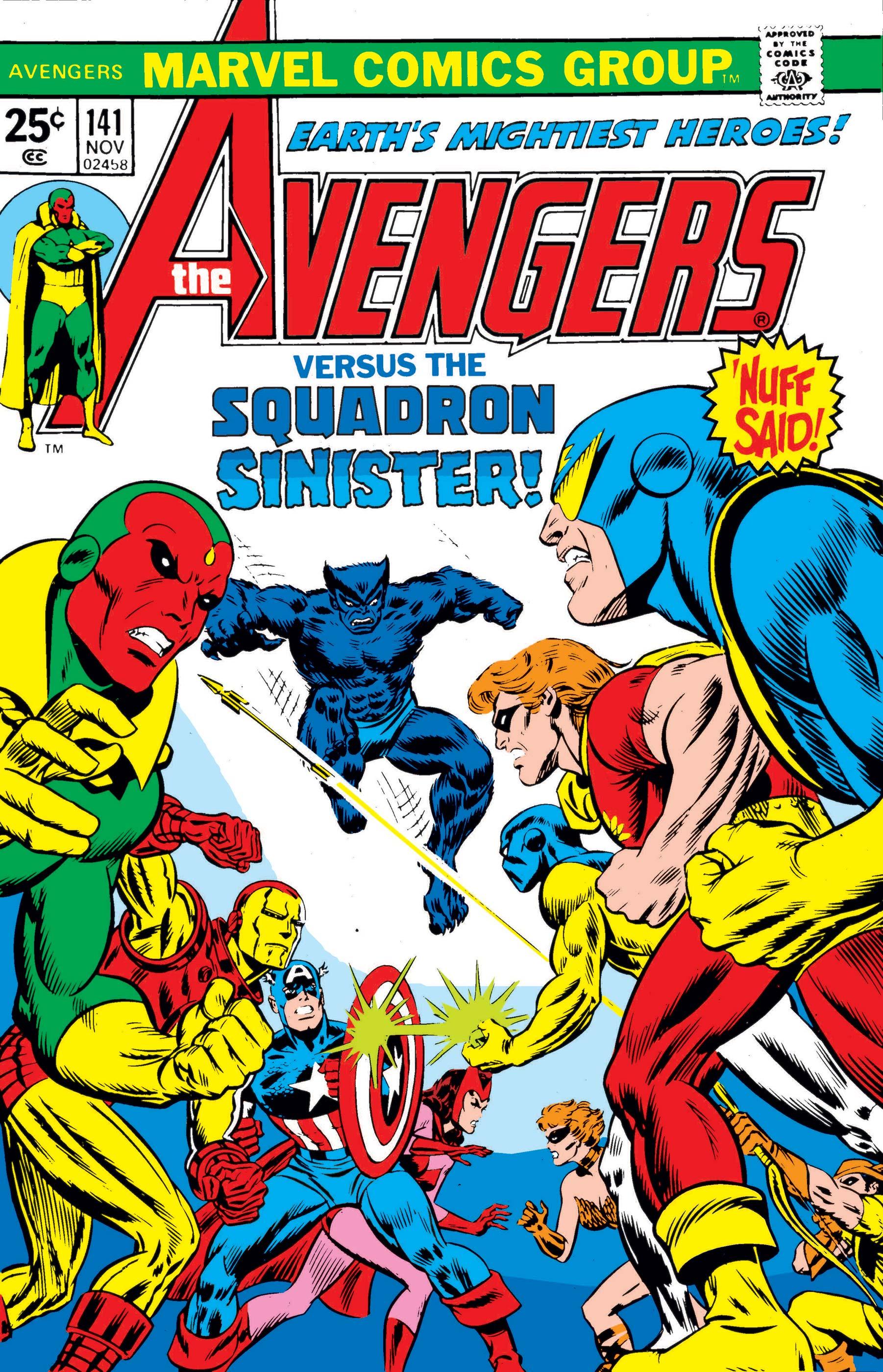 Avengers (1963) #141