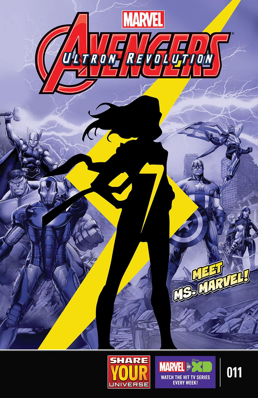 Marvel Universe Avengers: Ultron Revolution (2016) #11