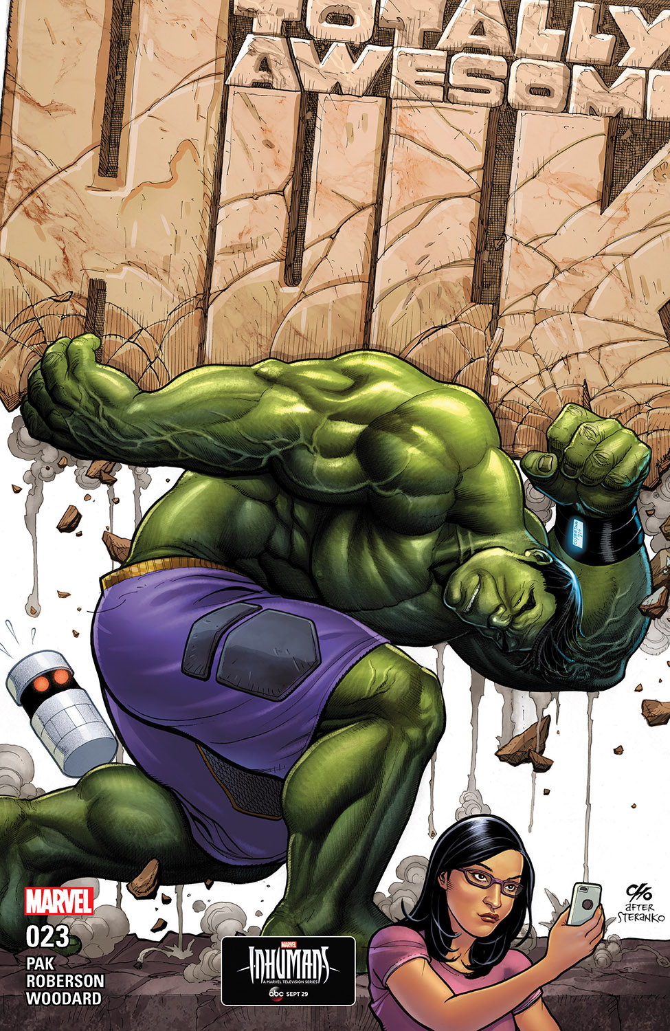 The Totally Awesome Hulk (2015) #23