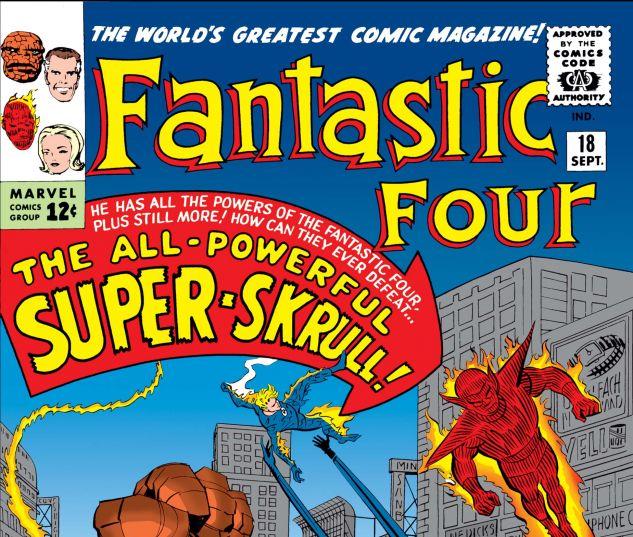 FANTASTIC FOUR (1961) #18