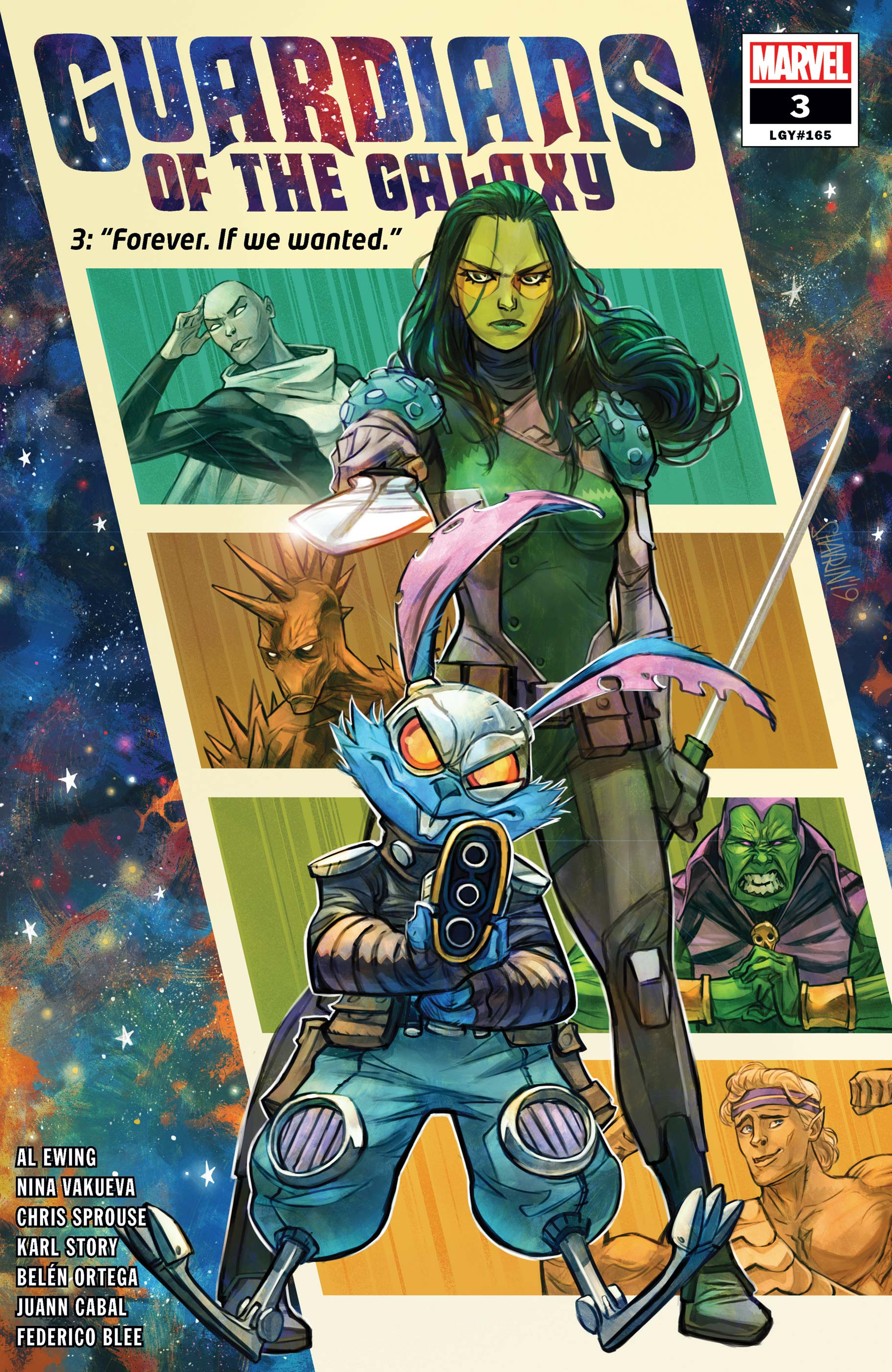 Guardians of the Galaxy (2020) #3